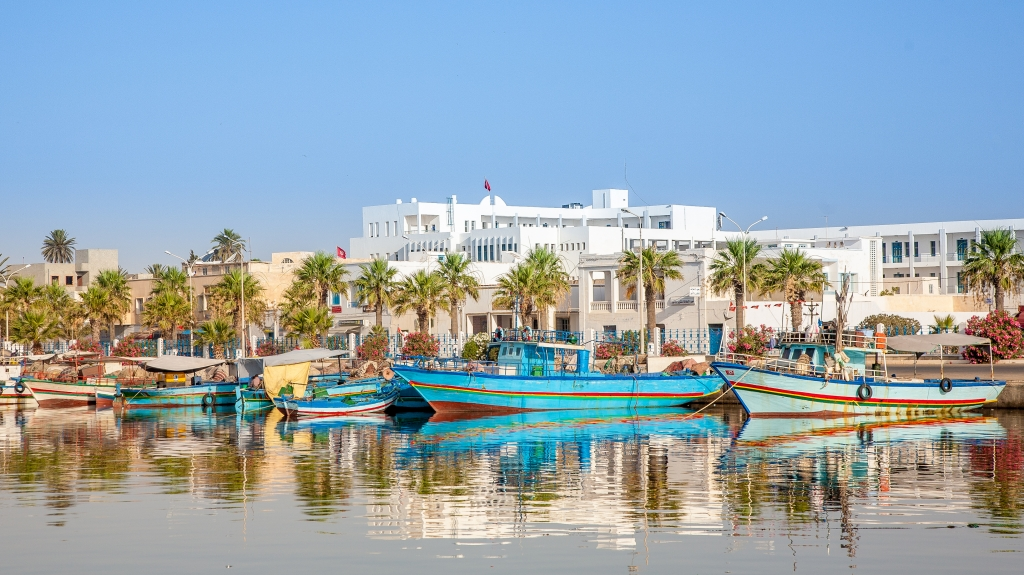 Wooden boats,hammamet tunisia