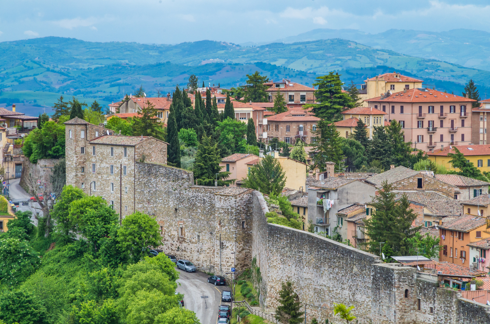 Perugia is the capital city of the Umbria region of central Italy and is also known as the Universities town.