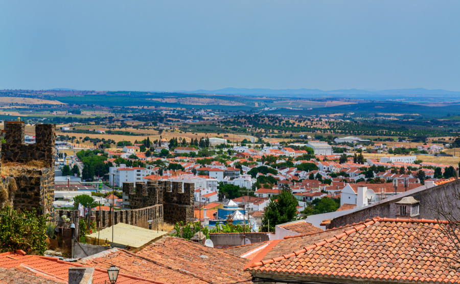 Beja is a historic, whitewashed town, typical of the Alentejo.