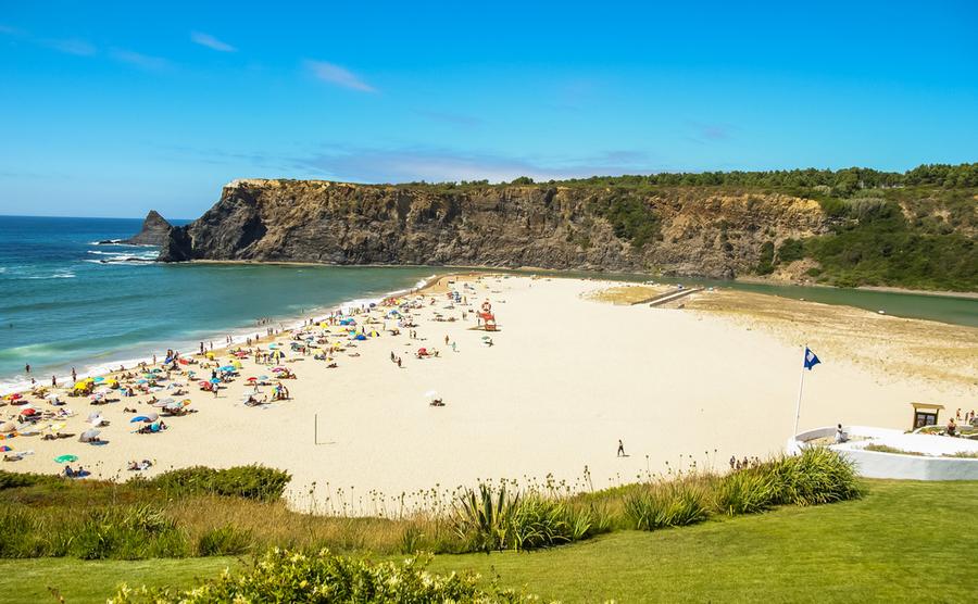 Vila Nova de Milfontes is one of the best beach spots in the Alentejo.