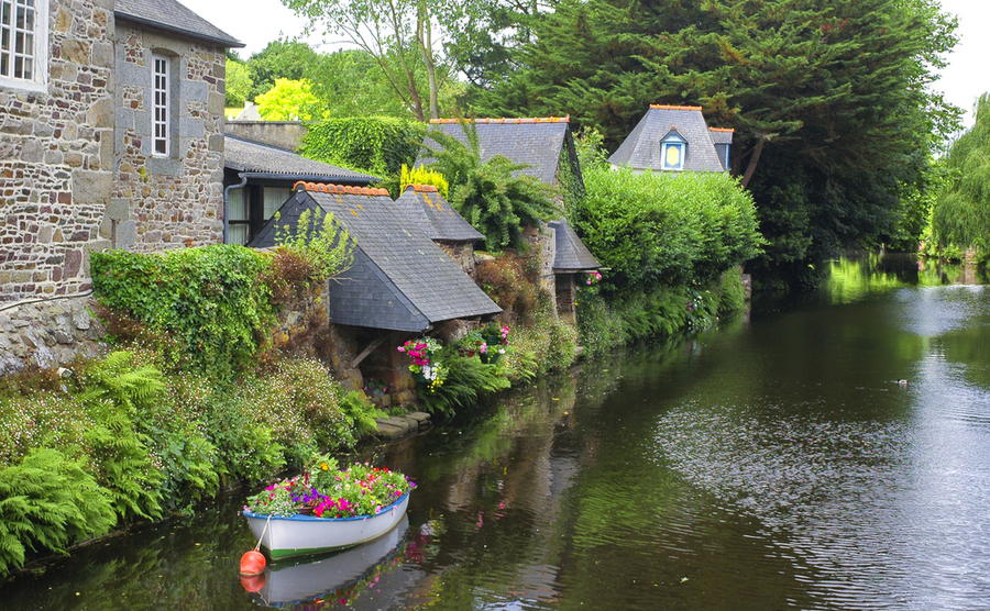 The 'little Venice' of Brittany – Pontrieux.
