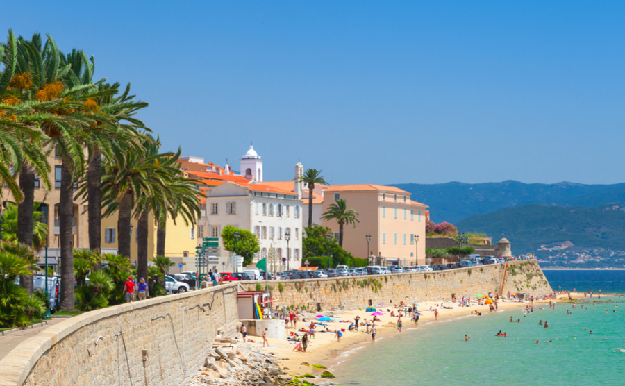 Ajaccio is one of the most popular places to move to in Corsica.