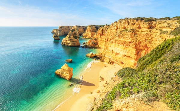 You're probably familiar with Praia da Rocha from numerous travel brochures.