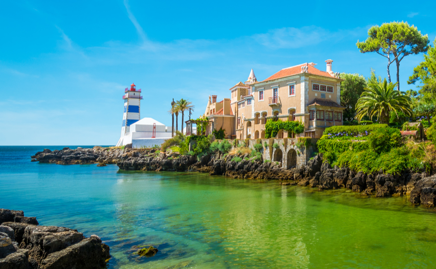 The beach resort of Cascais