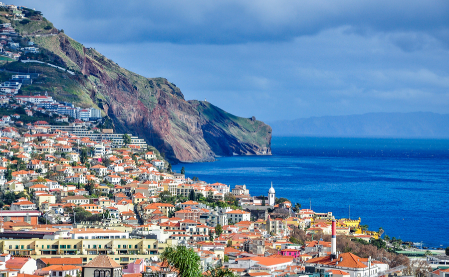 Funchal is the bustling capital of Madeira.