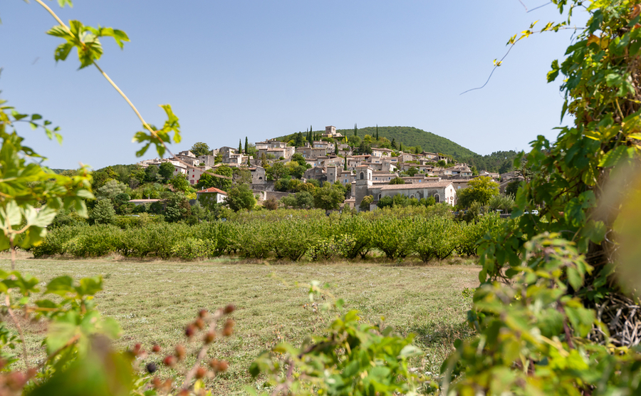 The quaint village of Mirmande.