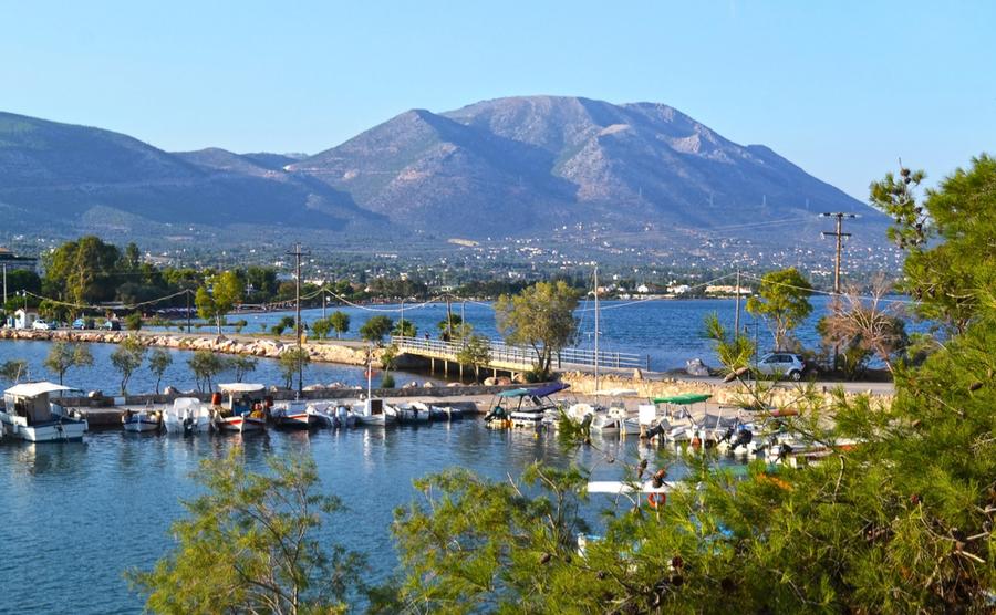 Euboea offers island living close to Athens.