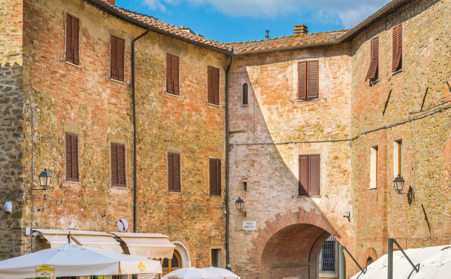 Umbria is known for its stunning, closely packed medieval villages, like Panicale. Stefano_Valeri / Shutterstock.com