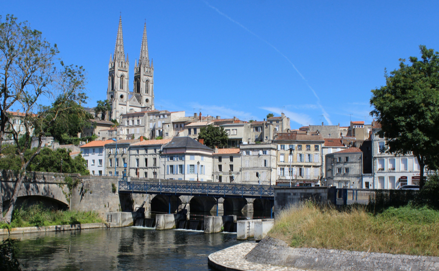 Niort is, somewhat surprisingly, one of the most important cities in France for insurance and banking!