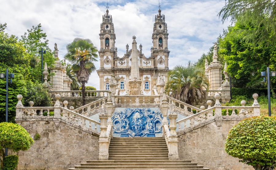 Lamego's beautiful church.