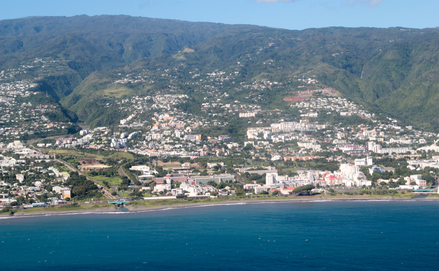 The capital of La Réunion, Saint-Denis.
