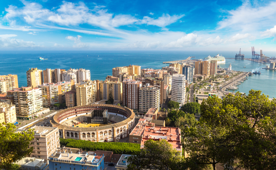Malaga is one of the most liveable cities in Spain.