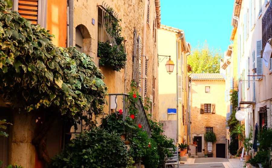 Valbonne Old Town.