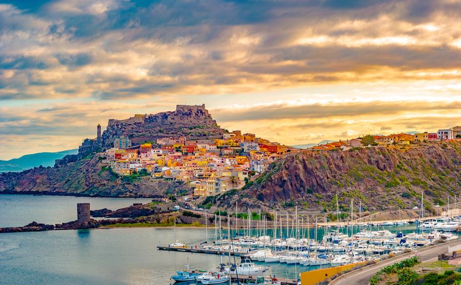 Castelsardo Old City, Sardinia